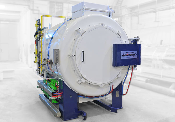 Gas Nitriding Furnace Uses Less Ammonia for Lower Cost   SECO/VACUUM